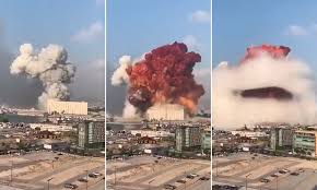 Beirut explosion was caused by burning military missiles, claims explosives expert