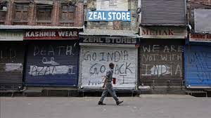 India places occupied Kashmir under strictest lockdown in months today