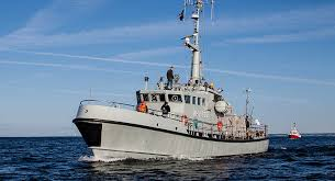 Civilian vessel and Russian frigate collide in strait between Denmark and Sweden, Danish army says