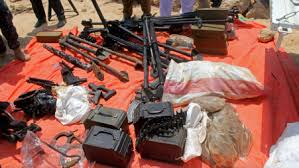 Suspected arms dealers moved