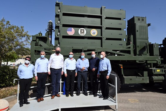 US Army receives 1st of 2 Iron