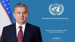 Uzbekistan President Proposes Establishment of a Permanent UN Committee on Afghanistan
