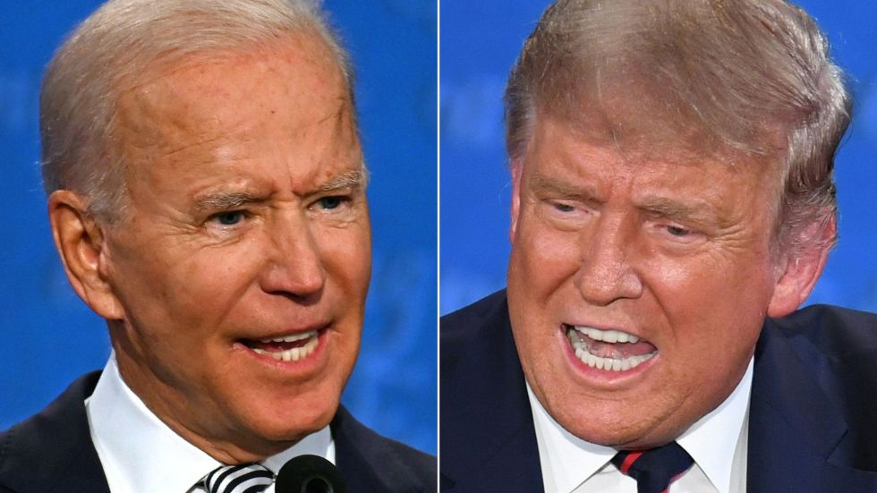 trump and biden
