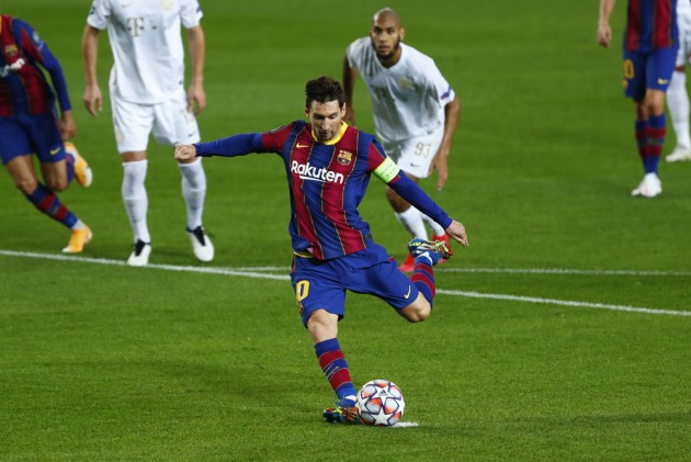 Messi equals another record in Barcelona win