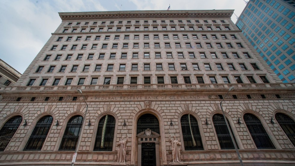 The Federal Reserve Bank of Cleveland on East 6th Street in Cleveland, U.S., on Sunday, April 13, 2014. Photographer: Ron Antonelli/Bloomberg *** Local Caption ***