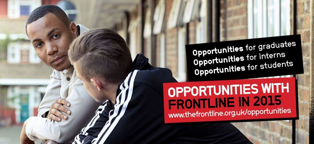 Opportunities with Frontline in 2015 – Apply today!