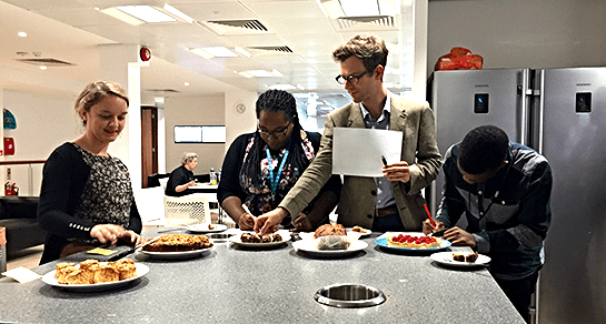 The Frontline Internship – Workshops and winning bake offs