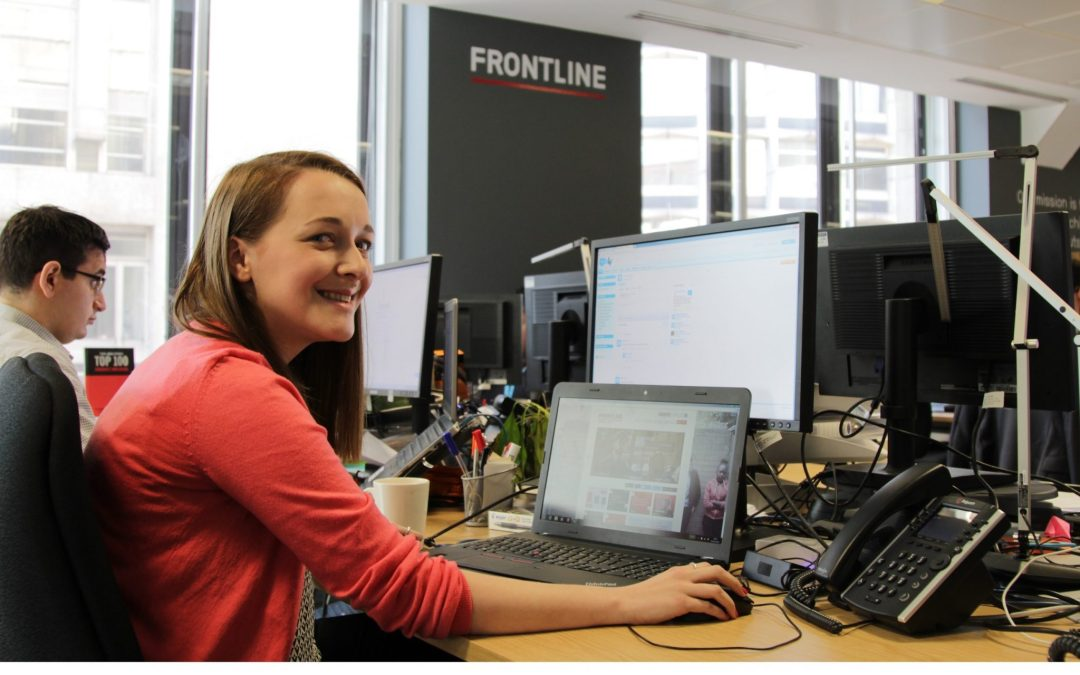 Going from a Brand Manager to Talent Coordinator at Frontline has been a great experience