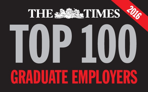 Frontline is proud to be a Top 100 graduate employer for the third year running
