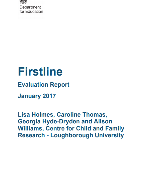 Independent Evaluation finds Firstline has significant impact on social work leadership