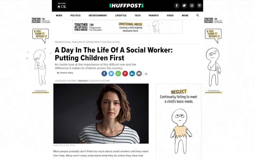 Huffington Post – A day in the life of a social worker