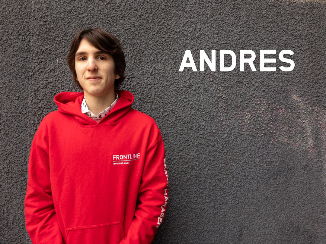 Andres, Frontline Brand Manager