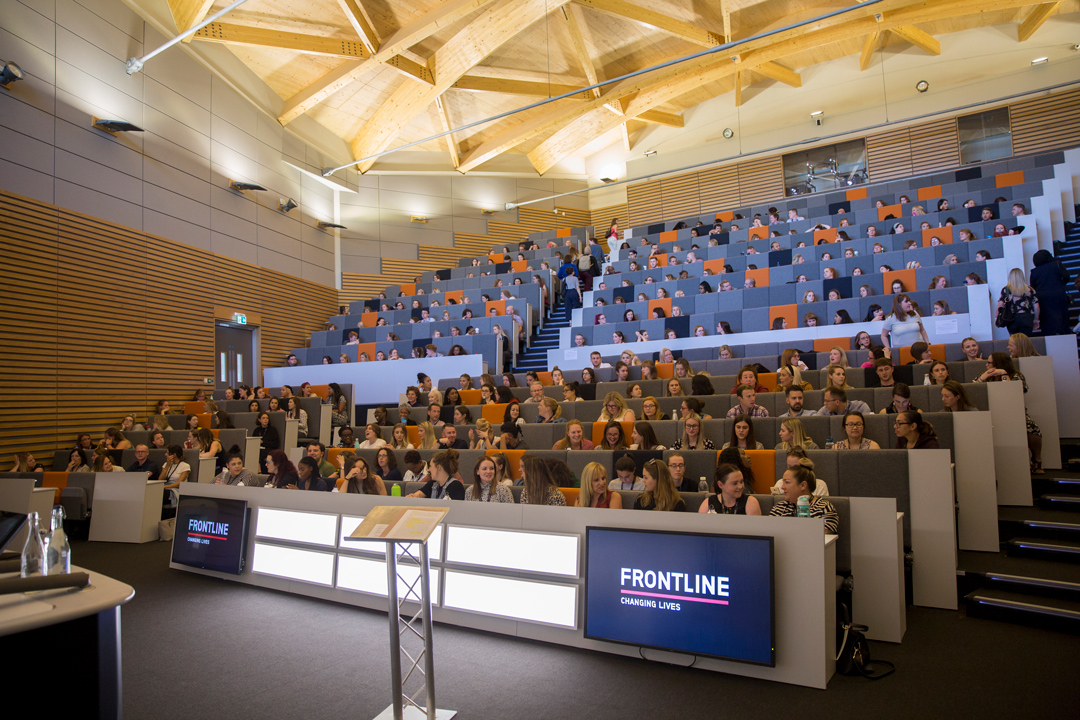 Frontline programme 2019 Cohort participants at the summer institute
