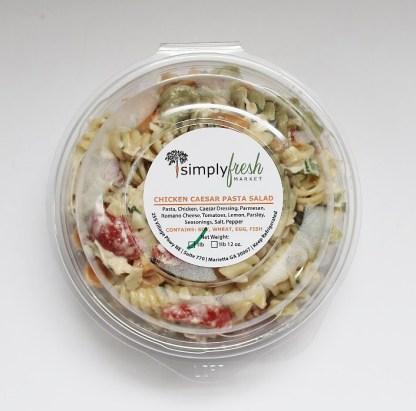 Simply Fresh's Chicken Caesar Pasta Salad