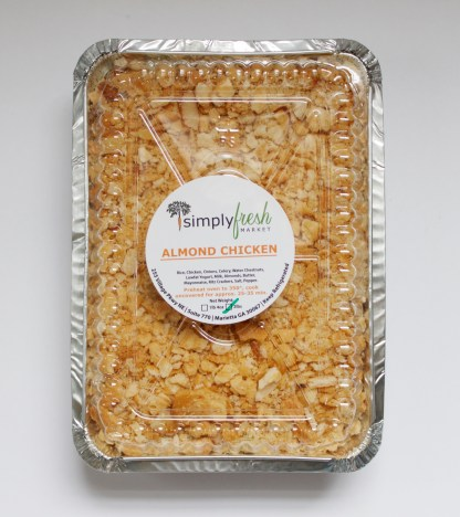 Simply Fresh's Almond Chicken