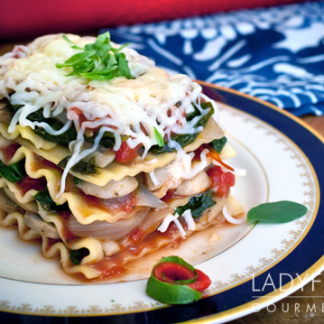 Photo of Loaded Vegetable Lasagna