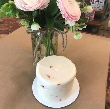 Gabriel's Strawberry Cake