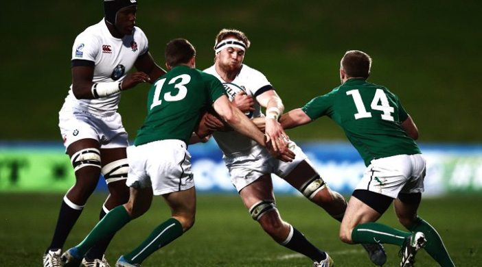 Ireland found England a bit to powerful and pacey in the IRB JWC2014 Semi Final.