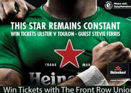 Competition: Win Tickets to Ulster v Toulon