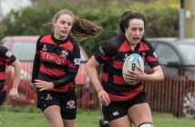 Nicole Fryday, Tullamore Ladies Rugby, City of Derry Ladies Rugby