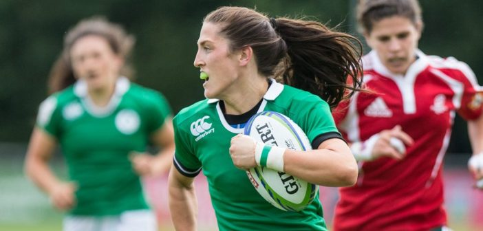 Chastening Day 1 for Ireland Women in Japan.