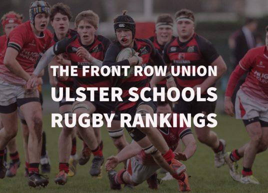 Ulster Schools Rugby Rankings 2016/17 Final