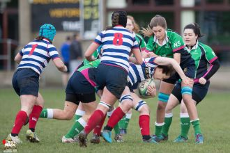2017-01-08 Ballynahinch Women v Blackrock Women -- 2