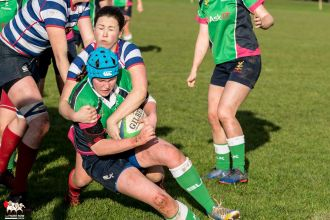2017-01-08 Ballynahinch Women v Blackrock Women -- 30