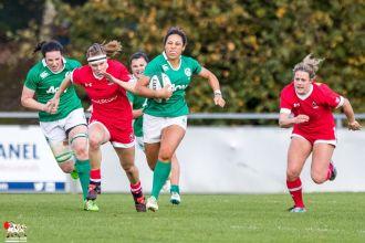 2016-11-19 Ireland Women v Canada Women. Autumn Series