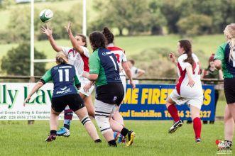 Ulster Women 10 Connacht Women 5. Pre-season trial match at Enniskillen RFC.