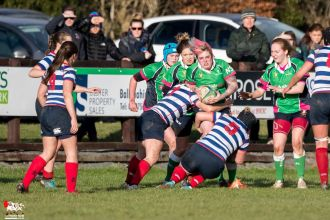 2017-01-08 Ballynahinch Women v Blackrock Women -- 35