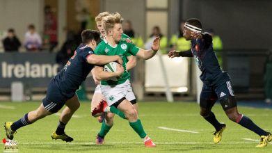 2017-02-24 Ireland U20 v France U20 (Six Nations) -- M60