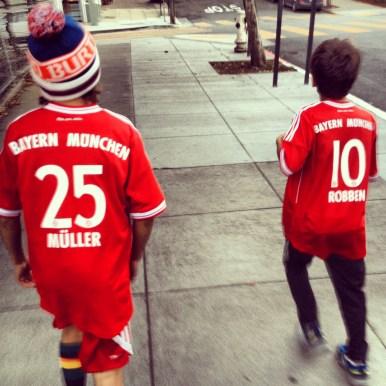 We are Bayern Munich fans