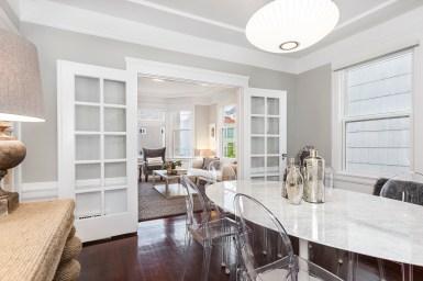 1487 Chestnut Dining Room to Living Room