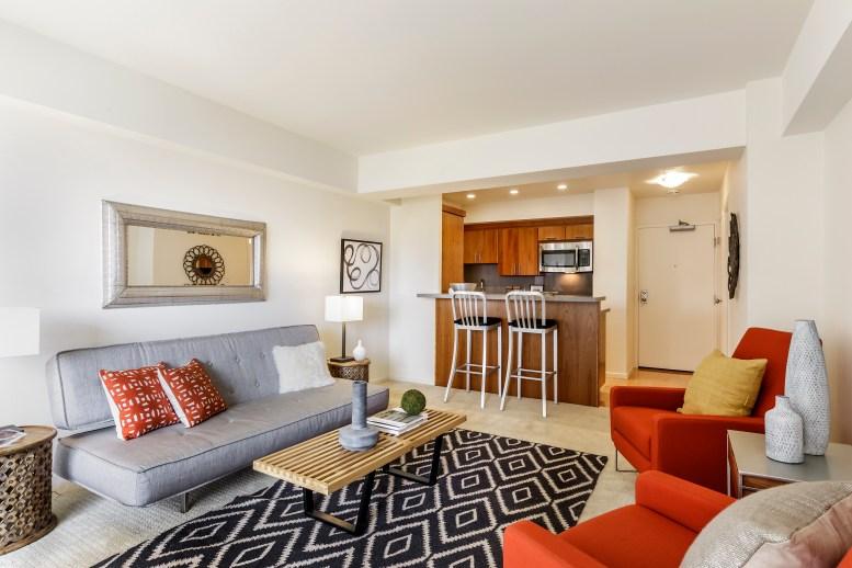 1177 California #304, Gramercy Towers Living Area