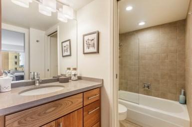 1177 California #304, Gramercy Towers Remodeled bathroom