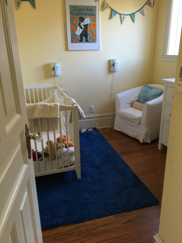 Baby room before...