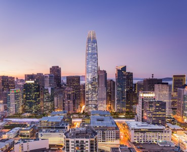 Salesforce Tower and Transbay Terminal