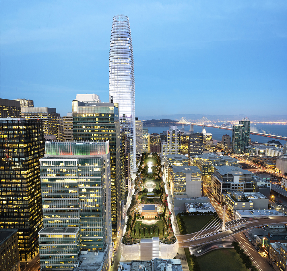 The Best Of Salesforce Tower Rising | Including Time-Lapse