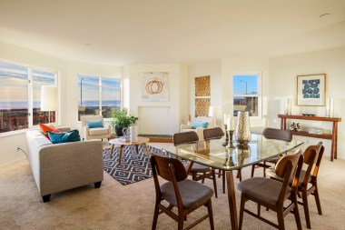 875 La Playa #179 | Outer Richmond Living Room