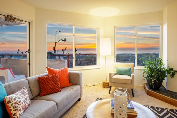 875 La Playa #179 | Outer Richmond | Views and Ocean Front Balcony