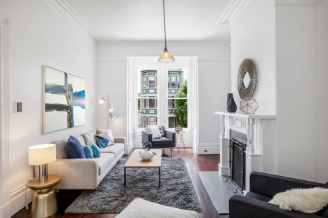 1826 Page St | Living Room