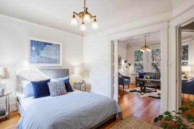 318 Connecticut Front (Double Parlor) Bedroom