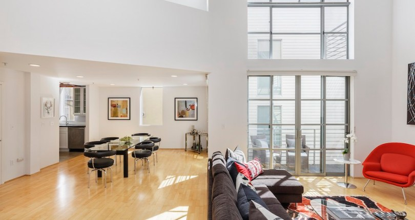 For Sale | 249 Shipley #12 | SOMA Penthouse Loft | $1,050,000