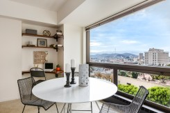 1177 California #304, Gramercy Towers Dining Area and Views S/SW