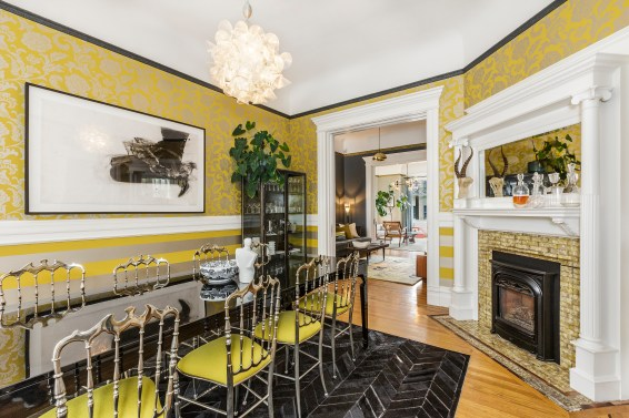 179 Carl Formal Dining Room w/ Fireplace