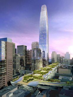 Salesforce Tower Rendering