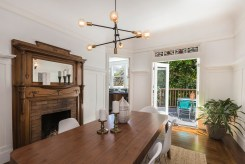 707 Cole St. | Formal Dining Room Opens to deck