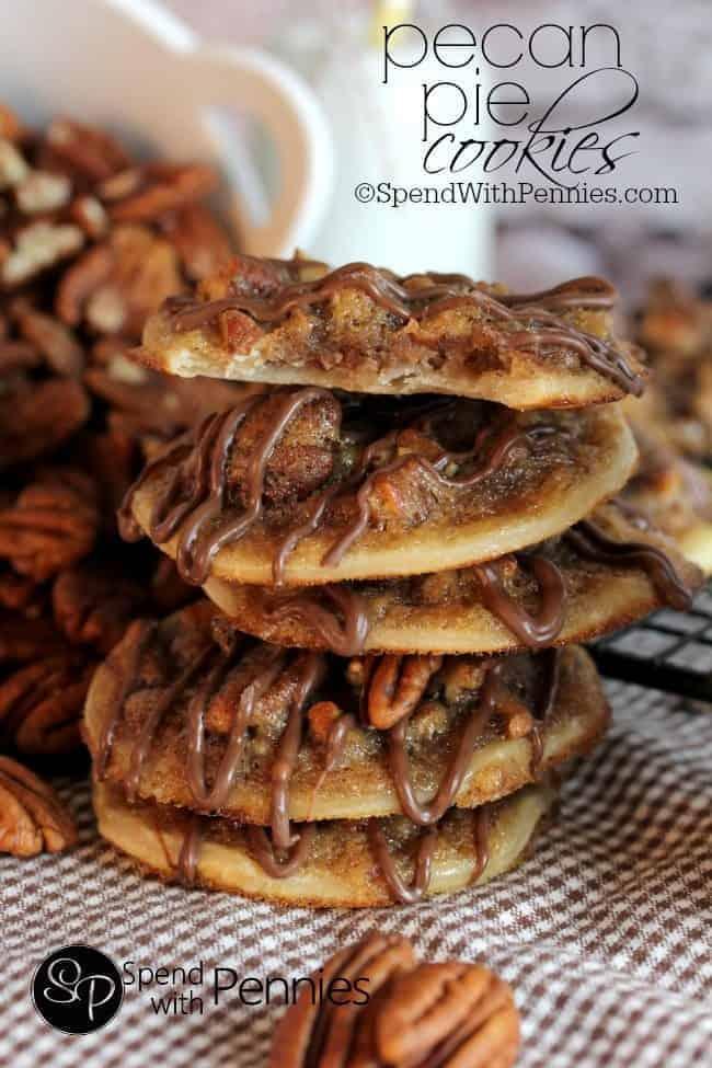 Holiday Pie, Pecan Pie Cookines