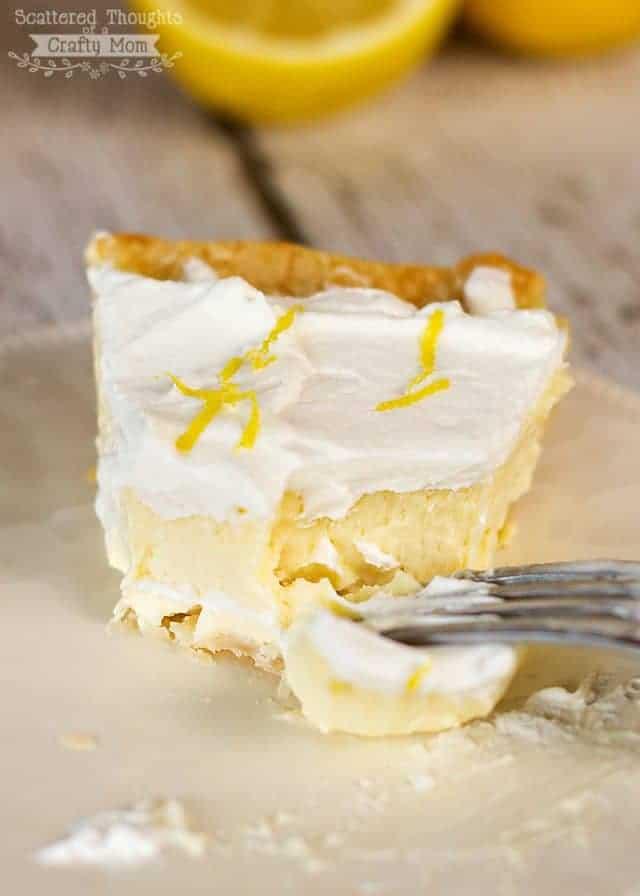 lemon and cheesecake pie